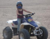 Daughter when she was 6 Learning to Ride